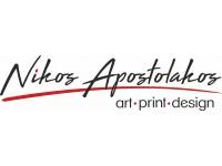 Nikos Apostolakos Art Print Design
